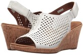 Rockport Briah Perf Sling (White) Women's Shoes