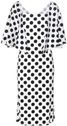 Dolce & Gabbana Polka-dot stretch-silk dress