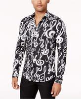 Love Moschino Men's Music-Print Shirt