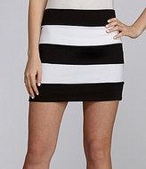 Catch My i Bandage Colorblock Skirt