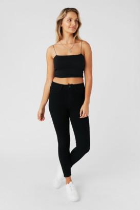 Supre Short Leg Skinny Premium High Rise Jean