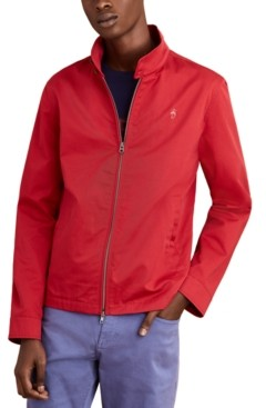 Brooks Brothers Men's Red Fleece Bomber Jacket