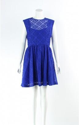 Sandro Blue Lace Dress for Women
