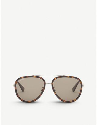 Gucci Gg0062s aviator sunglasses