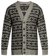 Marc Jacobs Oversized Icelandic-knit cardigan