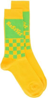 Paccbet Logo Knit Socks