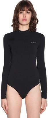 Kirin Open Back Stretch Jersey L/s Bodysuit