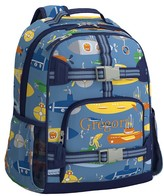 Pottery Barn Kids Large Backpack, Mackenzie Blue Submarine