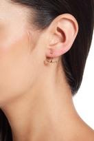 Shashi Ella CZ Jacket Earrings