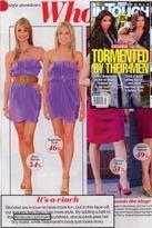 Amanda Uprichard Joan Dress in Purple Lavender