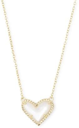 Kendra Scott Ari Heart Short Pendant Necklace