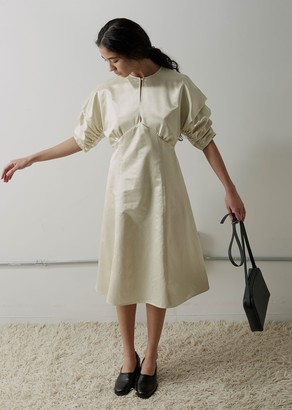 Meryll Rogge High Gloss Satin Dress
