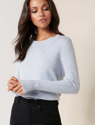 Forever New Lexi Crew Neck Essential Jumper - Gemstone Blue - l