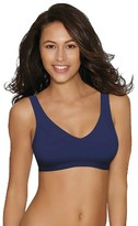 Hanes Women's Full Coverage SmoothTec Band Unlined Wireless Bra G796