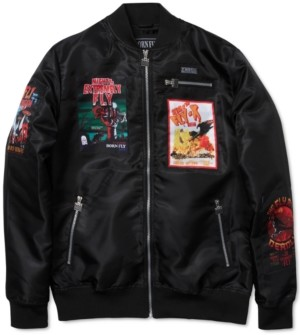 Fly London Born Men's Jason Bomber Jacket
