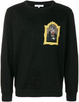Les Benjamins portrait patch sweatshirt
