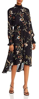 Nanette Lepore nanette Floral Smocked High/Low Dress