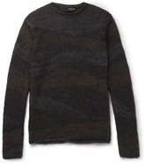Isabel Benenato Mélange Knitted Sweater