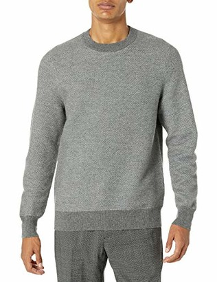 Theory Mens Heavyweight Cashmere Sweater Boland Crew