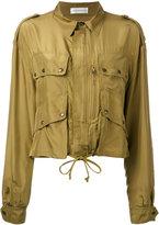 Faith Connexion cargo pocket jacket - women - Silk - XS
