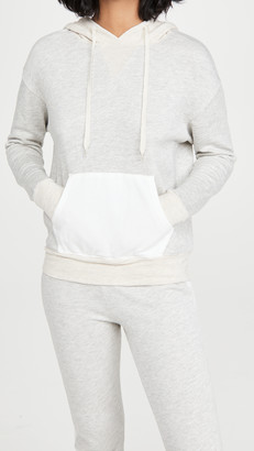 Monrow Colorblock Pullover Hoodie