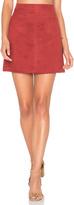 Sanctuary Serina Faux Suede Skirt