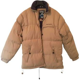 Schott Beige Polyester Coats