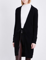 Joseph Self-tie knitted cashmere cardigan