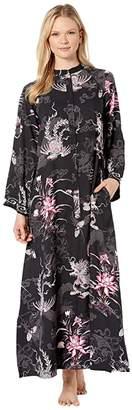 Natori Andalusia Caftan (Black) Women's Pajama
