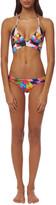 Mara Hoffman Wrap Around Triangle Bikini Top