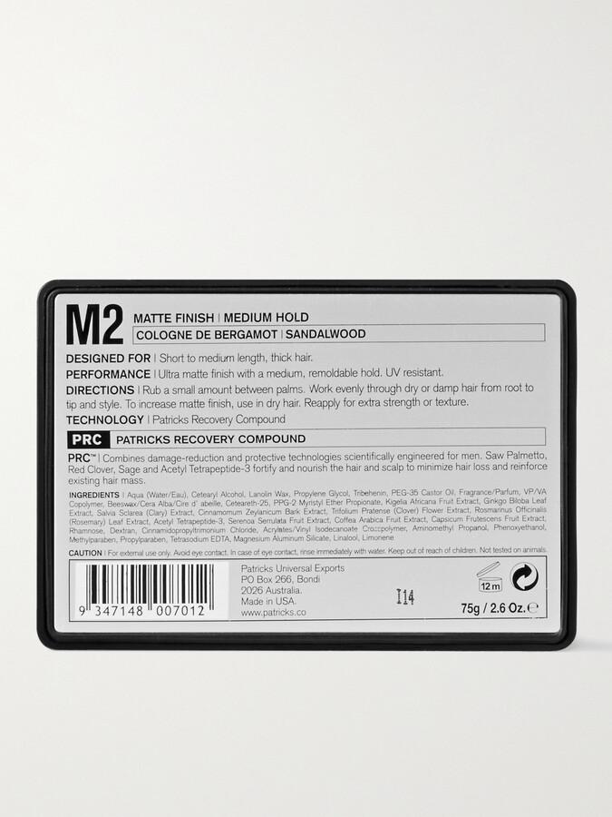 Thumbnail for your product : Patricks M2 Matte Finish Medium Hold Pomade, 75g