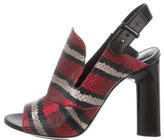 Creatures of the Wind Snakeskin Slingback Sandals