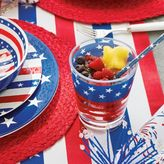 Sur La Table Outdoor Flag Double Old-Fashioned Glass