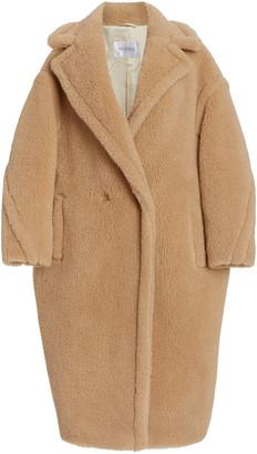 Max Mara Camelhair and Silk-Blend Teddy Coat