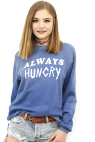 Wildfox Couture Always Hungry Kim Sweater in Monday Blues