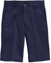 Nautica Boys' Husky Uniform Shorts