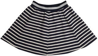 Mads Norgaard Mads Nrgaard Navy Cotton Skirt for Women