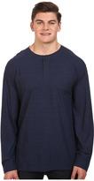 Nautica Big & Tall Long Sleeve Military Knit Shirt