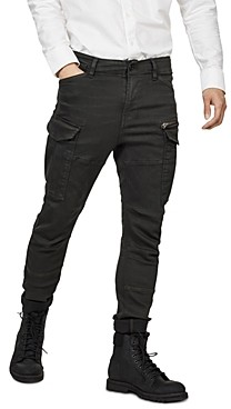 G Star Rovic Zip 3-d Skinny Fit Jeans in Asfalt