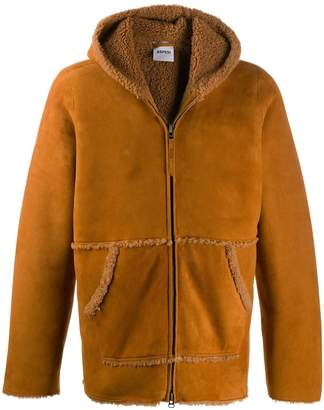 Aspesi York shearling-trimmed jacket