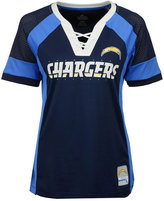 Majestic Women's Los Angeles Chargers Draft Me T-Shirt
