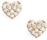 Women's Estella Bartlett Shine Bright Heart Stud Earrings