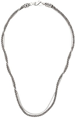 Emanuele Bicocchi Twisted Chain Necklace