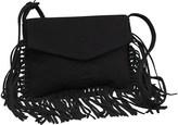 Superdry Womens Neo Nomad Fringed Shoulder Bag Black