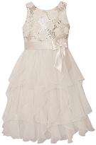 Candlelight Sequin Ruffle Dress - Infant & Girls