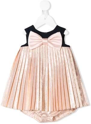 Hucklebones London pleated trapeze dress