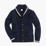 J.Crew Boys' tipped shawl cardigan