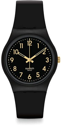 Swatch Golden Tac - GB274 (Black) Watches