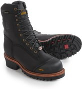 """Chippewa Logger Work Boots - Composite Safety Toe, Waterproof, Insulated, 9"""" (For Men)"""