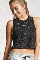 Forever 21 Active Le Sport Graphic Tank Top